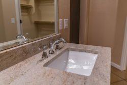 Under mount vanity sink