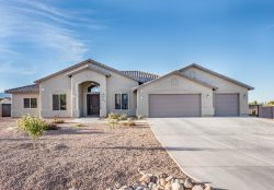 New construction by Isaacson Homes in Sierra Vista, AZ