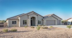 Street view of new Sierra Vista Home