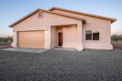 New home construction in Hereford Arizona