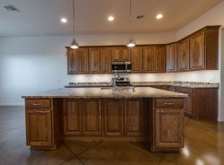 Kitchen island cabinets