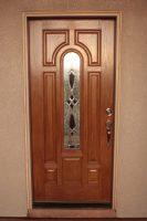 Single light front door