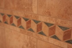 tile with deco strip
