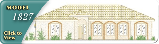 Floor plan and gallery of Isaacson Homes model 1827