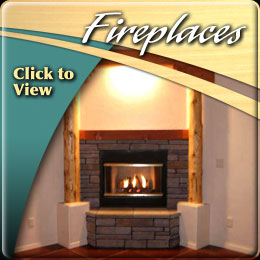 Isaacson Homes Fireplaces for warmth and aesthetics