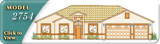 Floor plan and gallery of Isaacson Homes model # 2754
